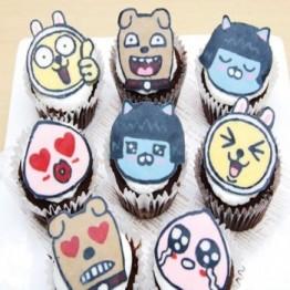 캐릭터 컵케이크 만들기