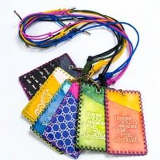 가죽공예 목걸이카드지갑 만들기